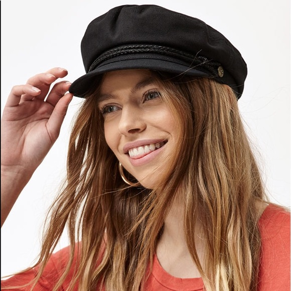Brixton Accessories - Brixton Fiddler Cap In Black 879989fb3708